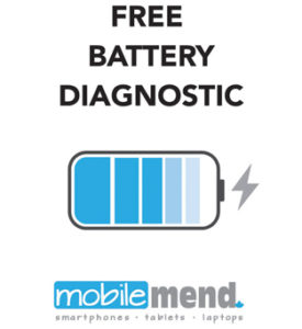 cell phone repair battery test